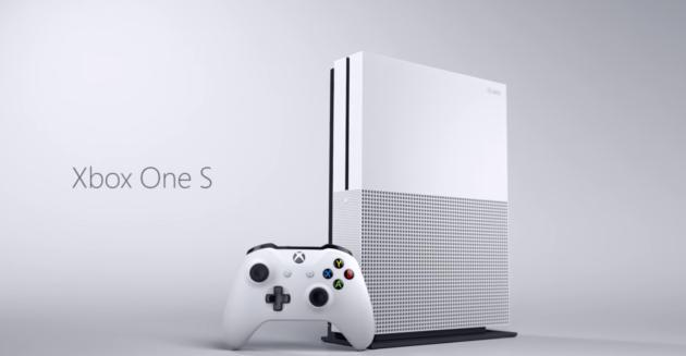 Xbox One S ufficiale: HDD da 2TB, risoluzione 4K e HDR a 299$