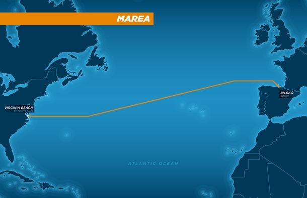 Marea: il progetto per collegare Nord America ed Europa con un cavo dati