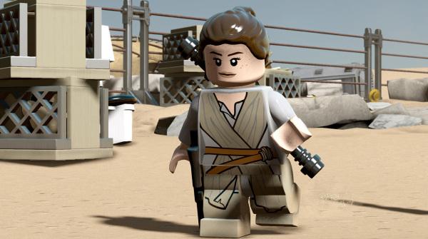 LEGO Star Wars: Il risveglio della Forza, ecco il trailer dedicato a Rey