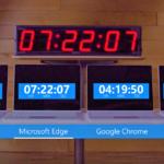 Microsoft Edge è il browser più leggero di tutti – VIDEO