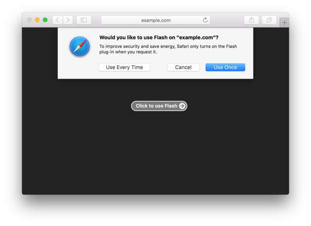 Safari 10 disattiverà tutti i plugin di default