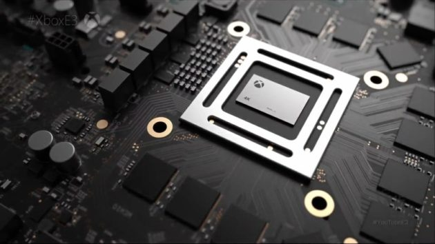 Xbox Project Scorpio per il gaming in VR