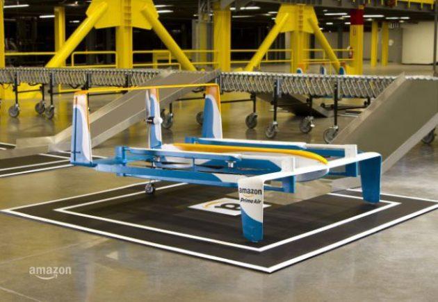 Amazon Prime Air: primi test per la consegna con drone nel Regno Unito