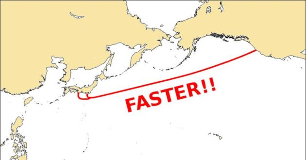 Google: operativo il cavo che collega Stati Uniti e Giappone