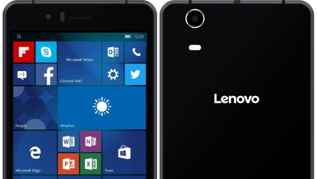 Lenovo: in arrivo uno smartphone con Windows 10 Mobile - FOTO