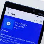 Facebook Messenger si aggiorna su Windows 10 Mobile