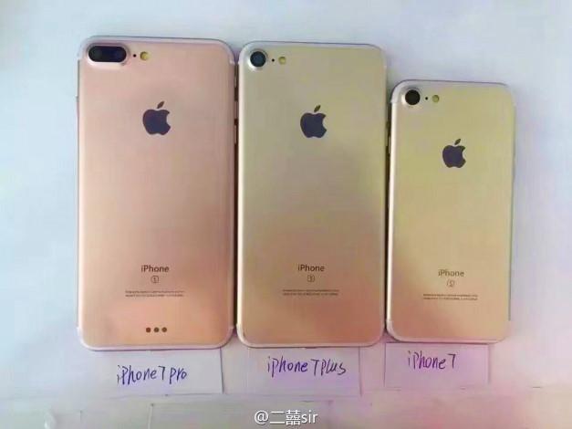 iPhone 7 il nuovo top di gamma potrebbe farsi in tre