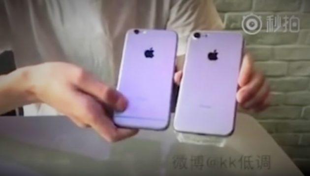 iPhone 7 (presunto) vs iPhone 6s: il video confronto