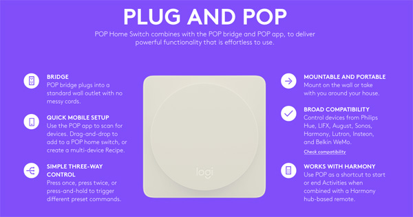 Pop Home Switch: il pulsante per controllare la tua smart home