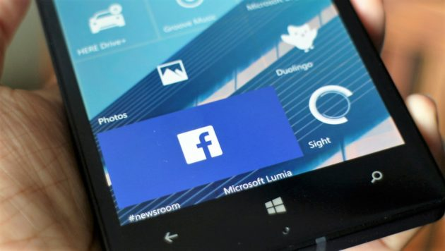 Facebook: disponibile l'app ufficiale per Windows 10 Mobile