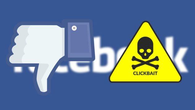 Facebook: guerra aperta al Clickbaiting