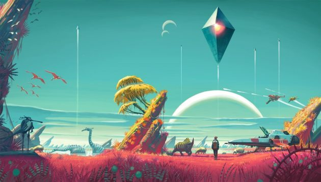 No Man's Sky, server separati per le versioni PS4 e PC