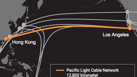 Facebook e Google collaboreranno alla realizzazione di una nuova fibra sottomarina