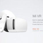 Xiaomi presenta Mi VR, un nuovo visore per la realtà virtuale