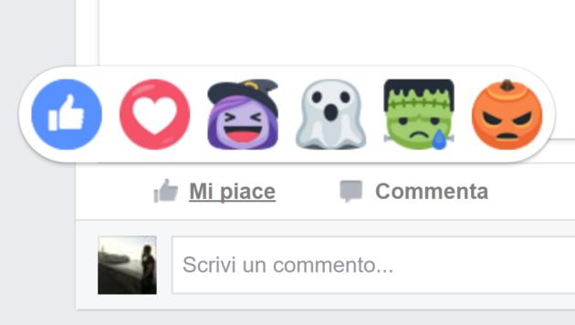 Facebook ci ricorda che Halloween è alle porte - Smartiani ff6604125ee0