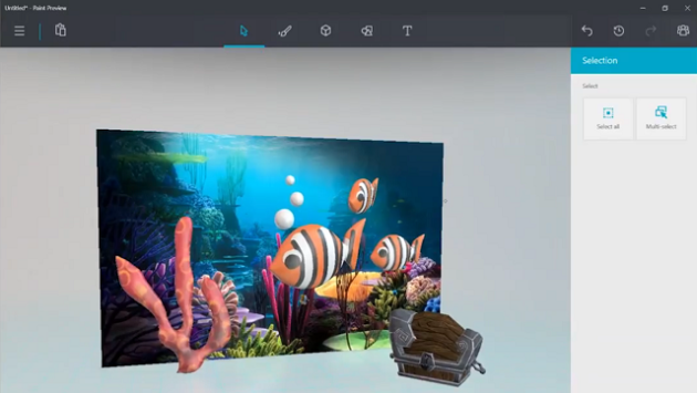 Microsoft: sta arrivando il nuovo Paint per Windows 10 - VIDEO