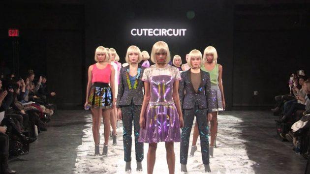 CuteCircuit: quando la moda incontra la tecnologia gli abiti si illuminano di LED