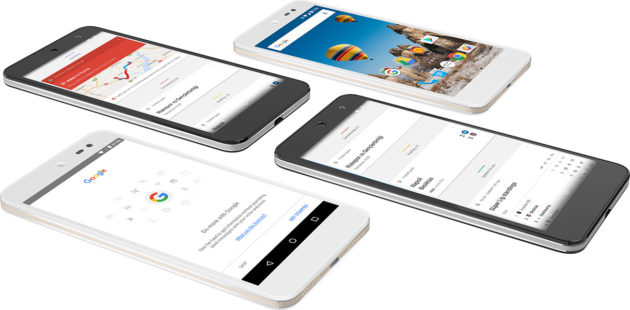 GM 5 è il primo smartphone Android One con Nougat a bordo