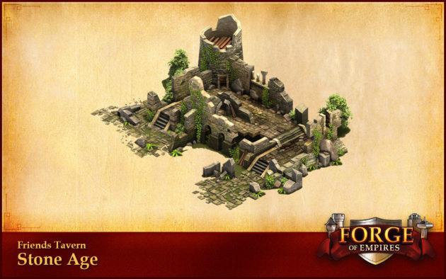 Forge of Empires introduce la Taverna degli Amici