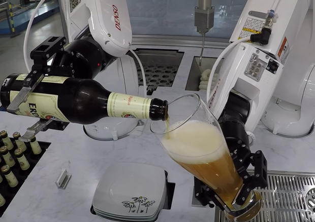 Presto i robot entreranno nel settore della ristorazione