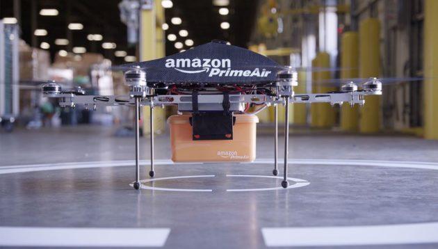 Amazon Prime Air porta a termine la sua prima spedizione aerea
