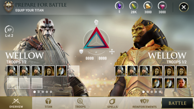 Dawn of Titans, il nuovo social game free-to-play per mobile di Zynga