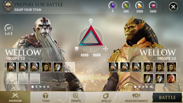 Dawn of Titans, il nuovo social game free-to-play per mobile di Zynga