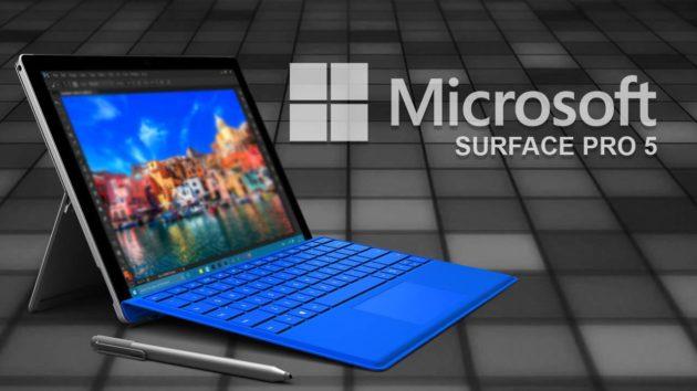 Surface Pro 5: ulteriori conferme sul 2-in-1 di Microsoft