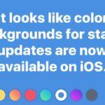 """Facebook: aggiornamenti di stato """"colorati"""" anche su iOS"""