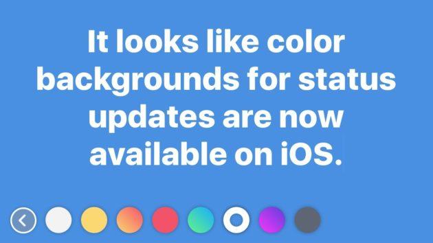 Facebook: aggiornamenti di stato