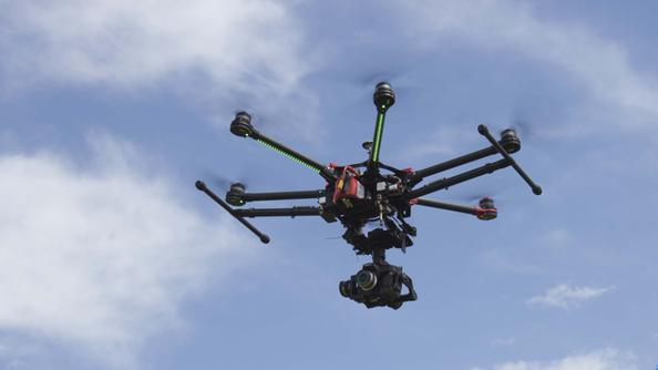 Primi droni poliziotto sorvolano Frosinone