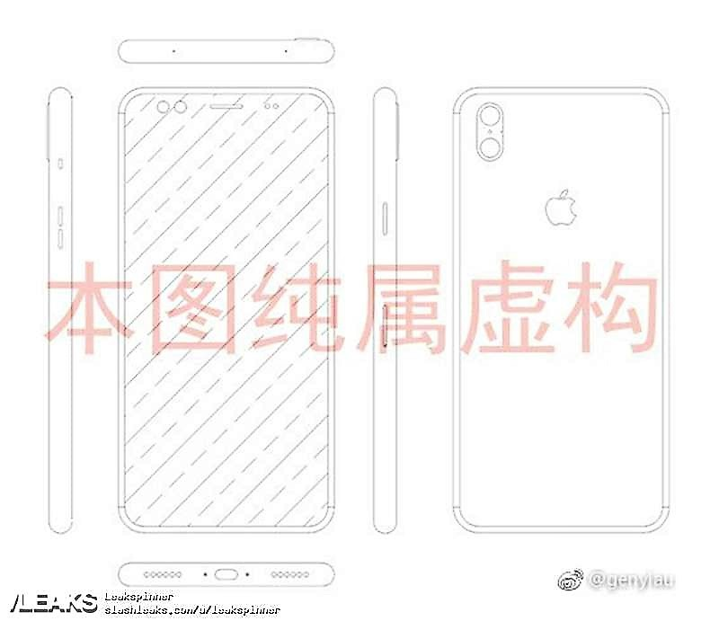 Apple iPhone 8: niente tasto home e dual camera verticale? (1)