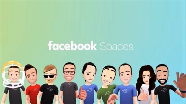Facebook Spaces è