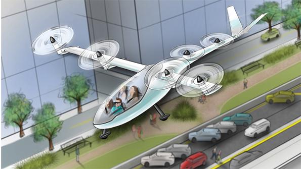 Uber punta in alto, ecco Elevate il progetto per i taxi volanti