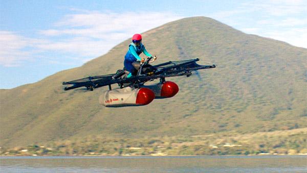 Kitty Hawk Flyer, la macchina volante in arrivo sul mercato a fine anno