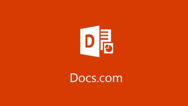 Microsoft si appresta a chiudere il servizio Docs.com