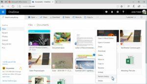 OneDrive disponibile la cronologia dei salvataggi di tutti i file (01)