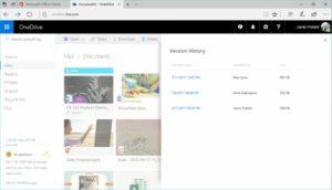 OneDrive disponibile la cronologia dei salvataggi di tutti i file (02)