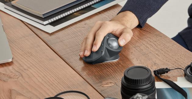 Logitech presenta MX Ergo, il nuovo mouse con trackball