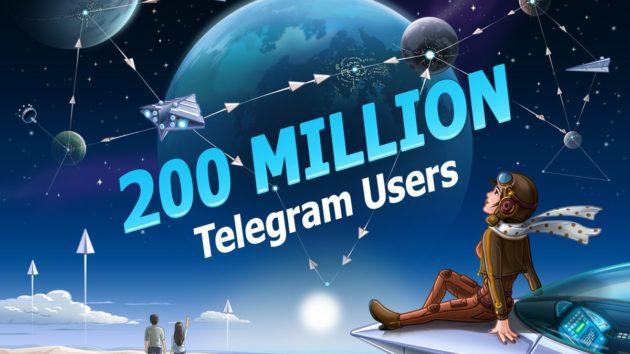 Telegram ha raggiunto quota 200 milioni di utenti