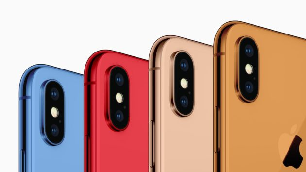 iPhone 2018, Apple sta puntando all'arcobaleno