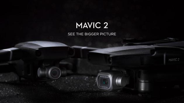 DJI Mavic 2 Pro e Mavic 2 Zoom ufficiali: l'evoluzione della specie