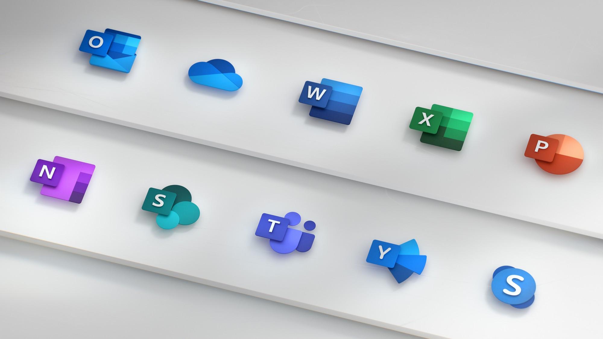 Le nuove icone di Microsoft Office