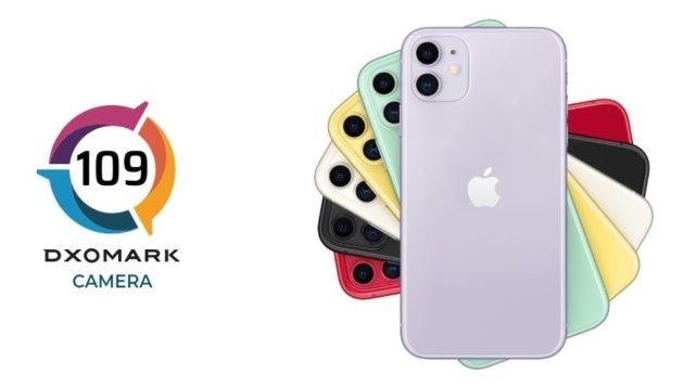 Apple iPhone 11 conquista 109 punti su DxOMark