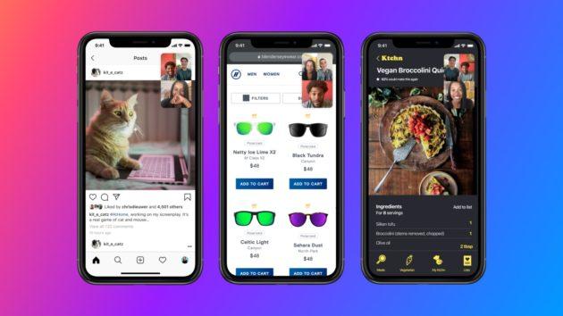 Facebook Messenger, condivisione dello schermo in videochiamata